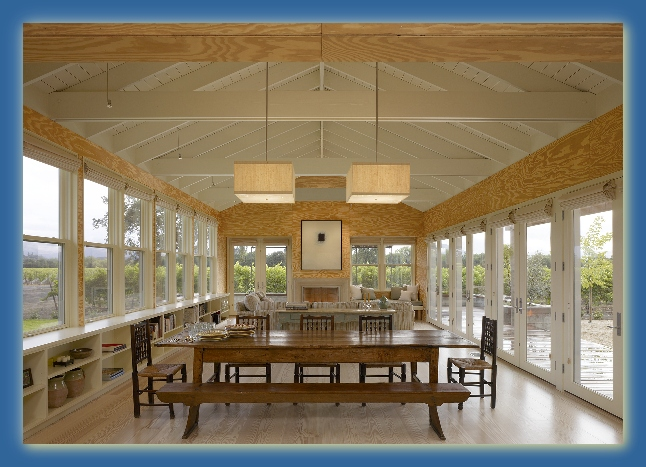 AIA Award Winning Healdsbur Vineyard Home